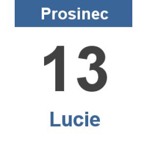 Svatá Lucie noci upije, ale dne nepřidá