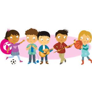 Zájem nezájem aneb kroužky pro děti