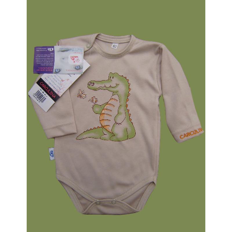 Body Krokodýl s dlouhým rukávem