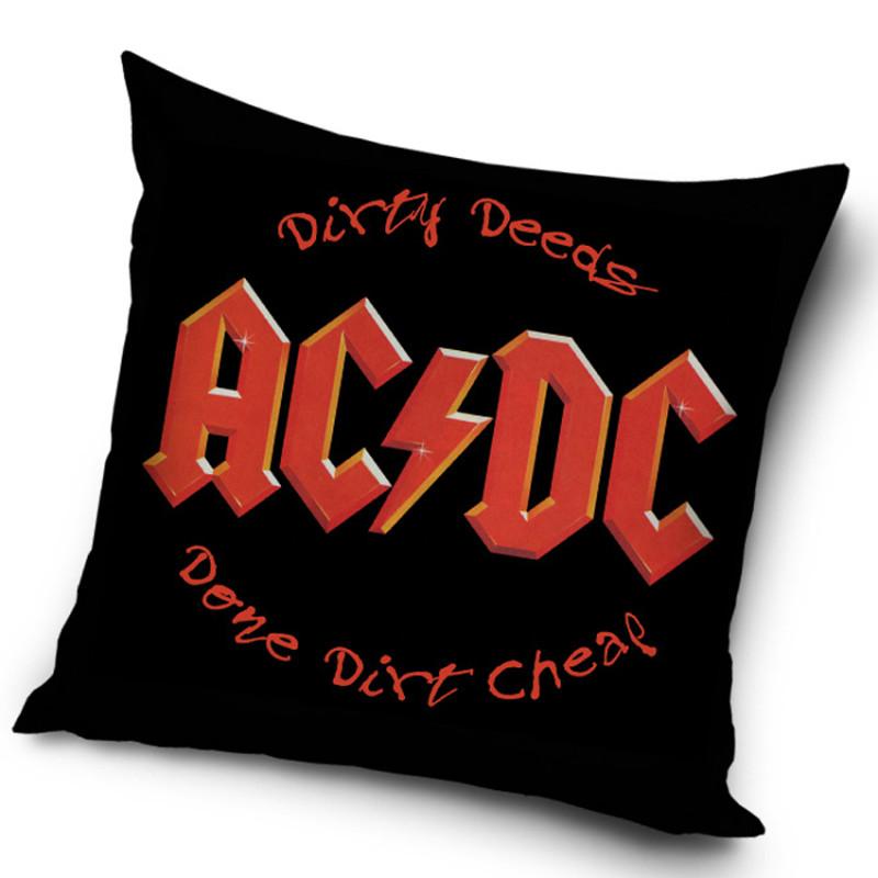 Povlak na polštářek AC/DC Dirty Deeds