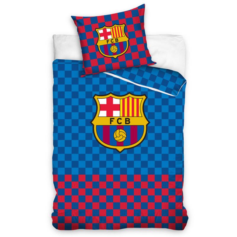 Povlečení FC Barcelona Chessboard