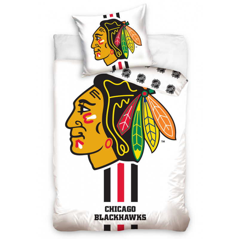 Povlečení NHL Chicago Blackhawks White