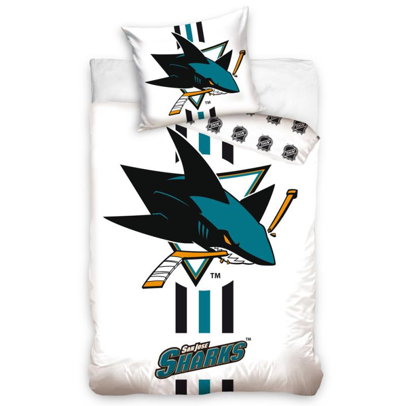 Povlečení NHL San Jose Sharks White