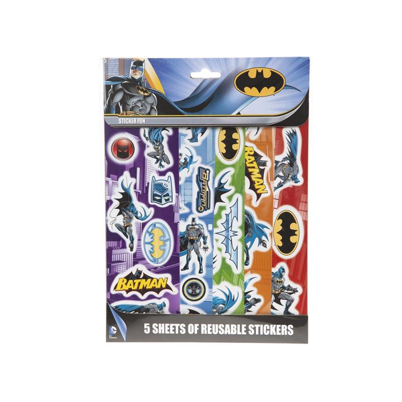 Samolepky Batman 5 listů
