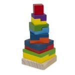 Dřevěná věž Baby 20 cm