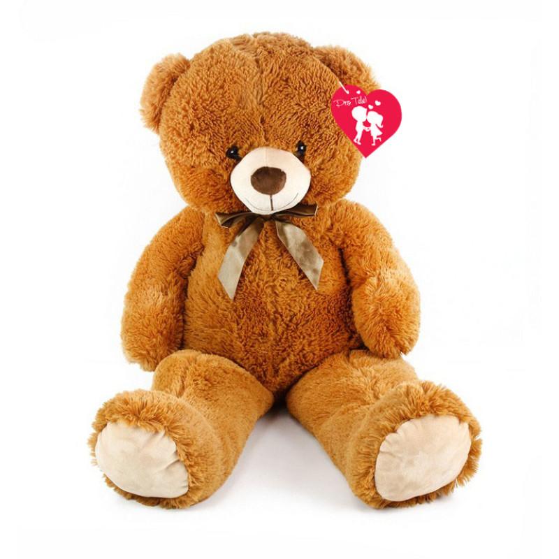 Velký plyšový medvěd Oskar 90 cm