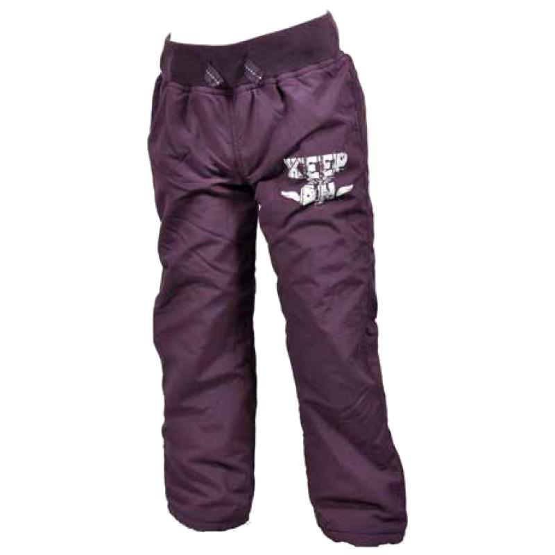 Kalhoty s fleecovou podšívkou