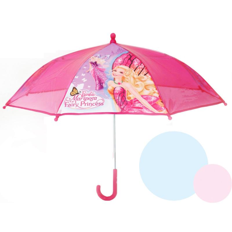 Deštník Barbie - průhledný