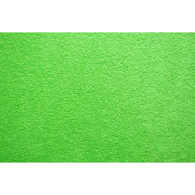 Froté prostěradlo EXKLUSIVE Ostře zelená
