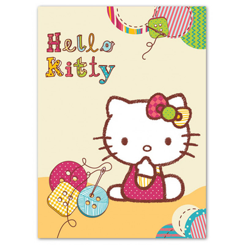 Deka Hello Kitty knoflíky
