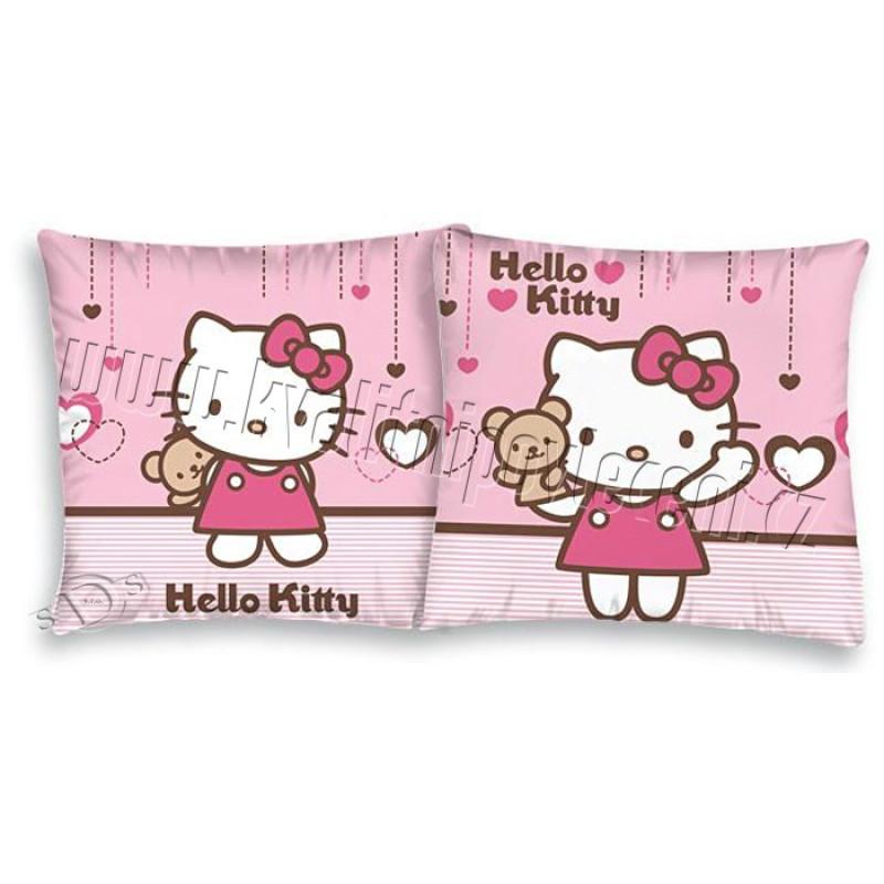 Povlečení na polštářek Hello Kitty Teddy
