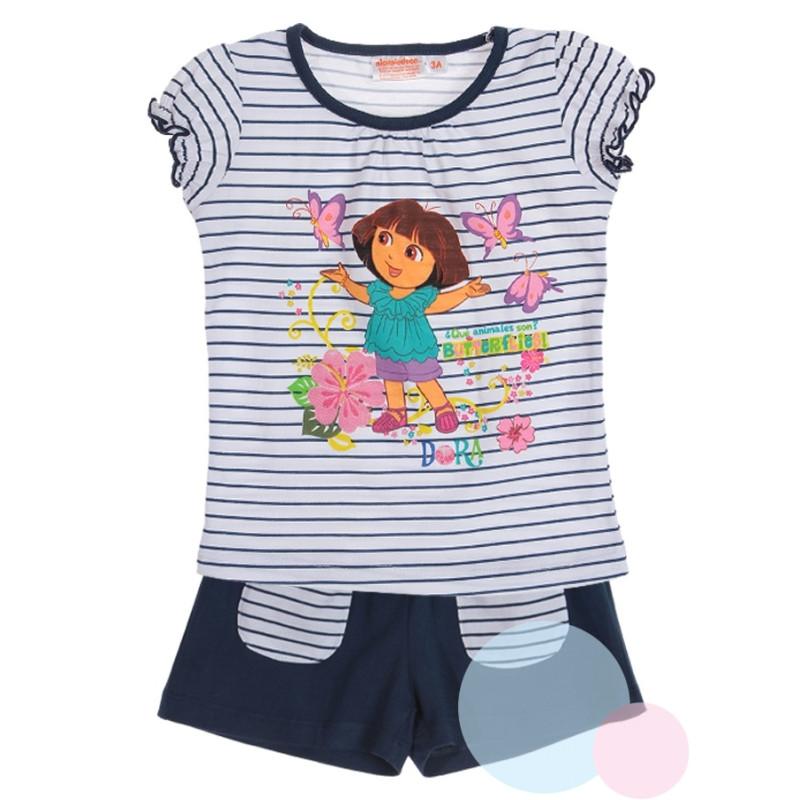 Tričko a kraťasy Dora