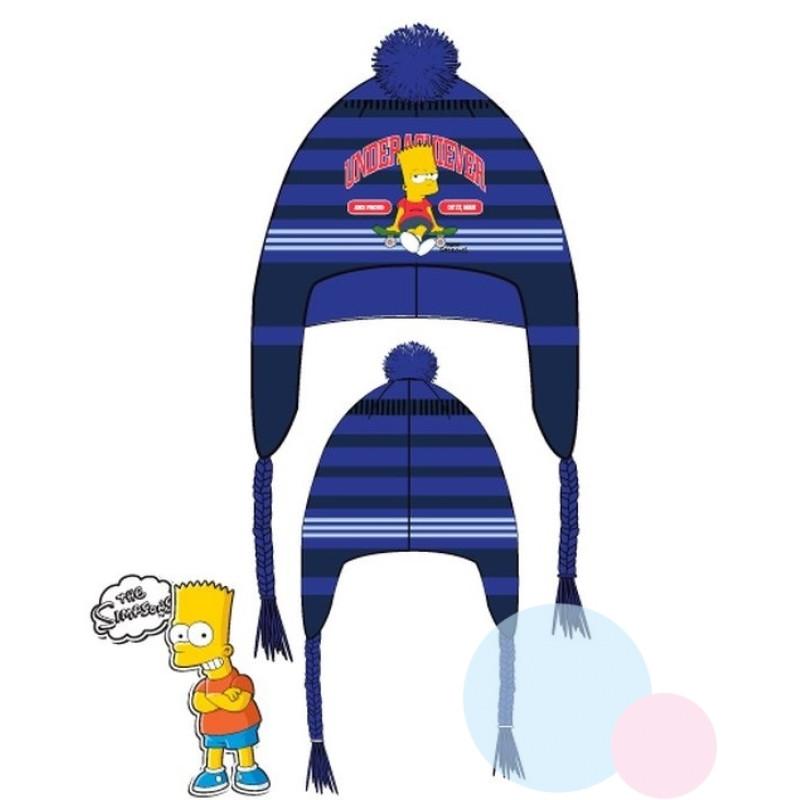 Čepice Bart Simpson