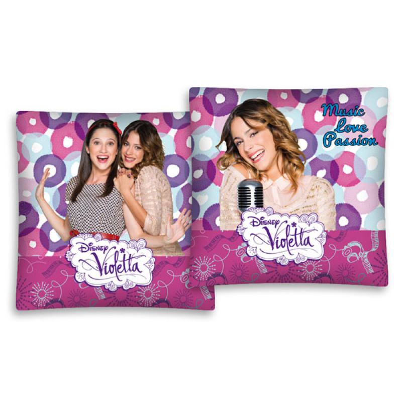 Povlak na polštářek Violetta pink