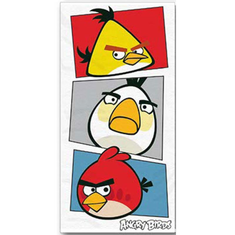 Osuška Angry Birds