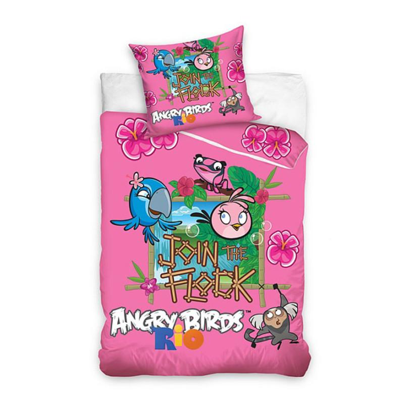 Povlečení Angry Birds Rio
