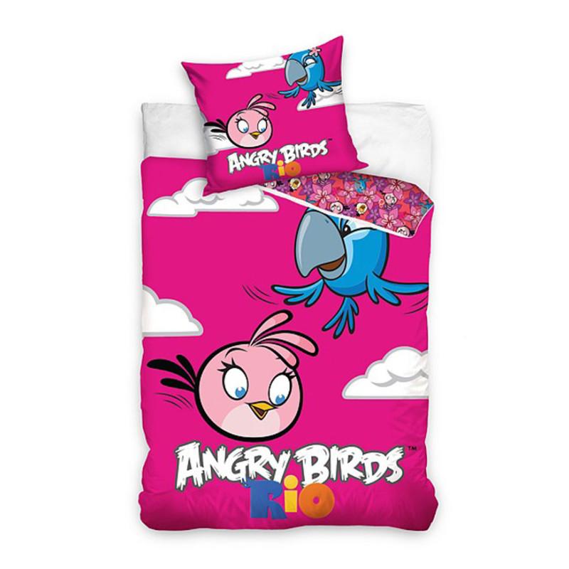 Povlečení Angry Birds Rio Stella a Perla