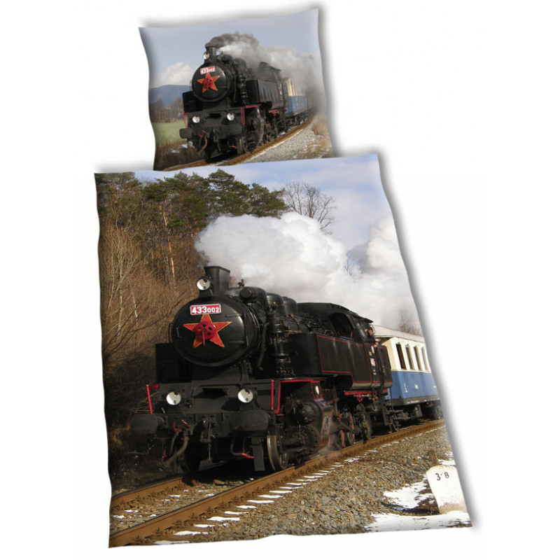 Povlečení Parní lokomotiva