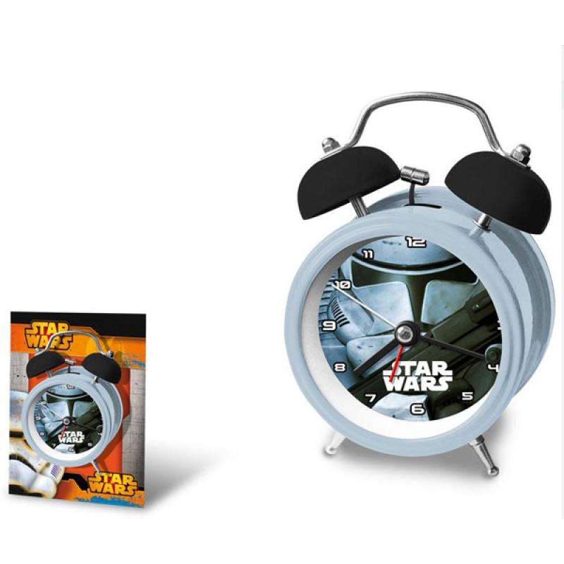 Kovový budík Star Wars Stormtrooper
