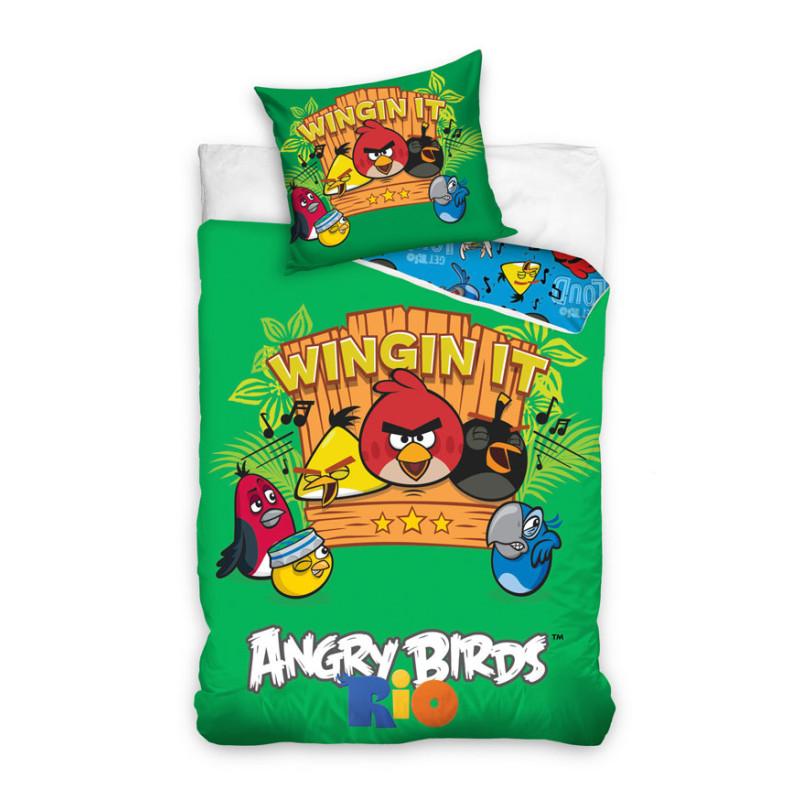 Povlečení Angry Birds Rio hudba