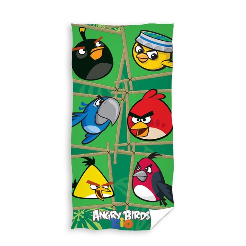 Osuška Angry Birds Rio Bamboo