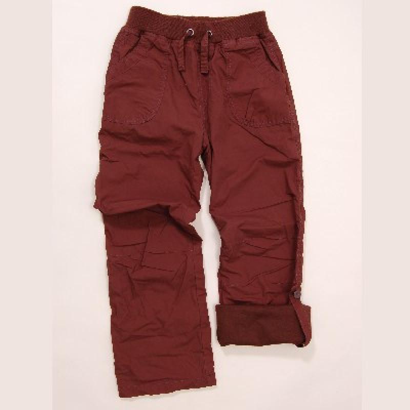 Kalhoty dívčí s podšívkou