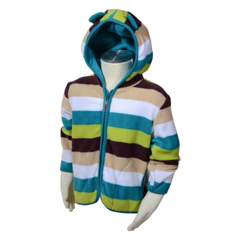 Microfleecová mikina s kapucí