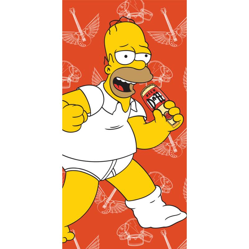 Osuška Homer Simpson terakota