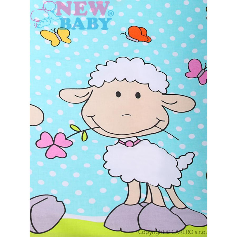 Povlečení do postýlky s ovečkou