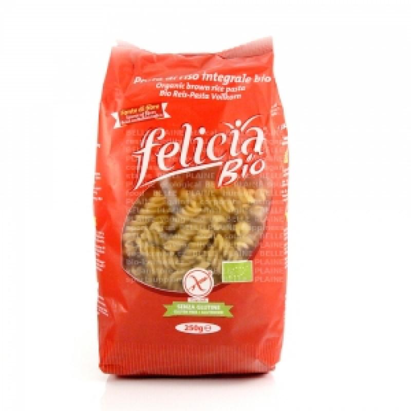 Celozrnné rýžové těstoviny Fusilli