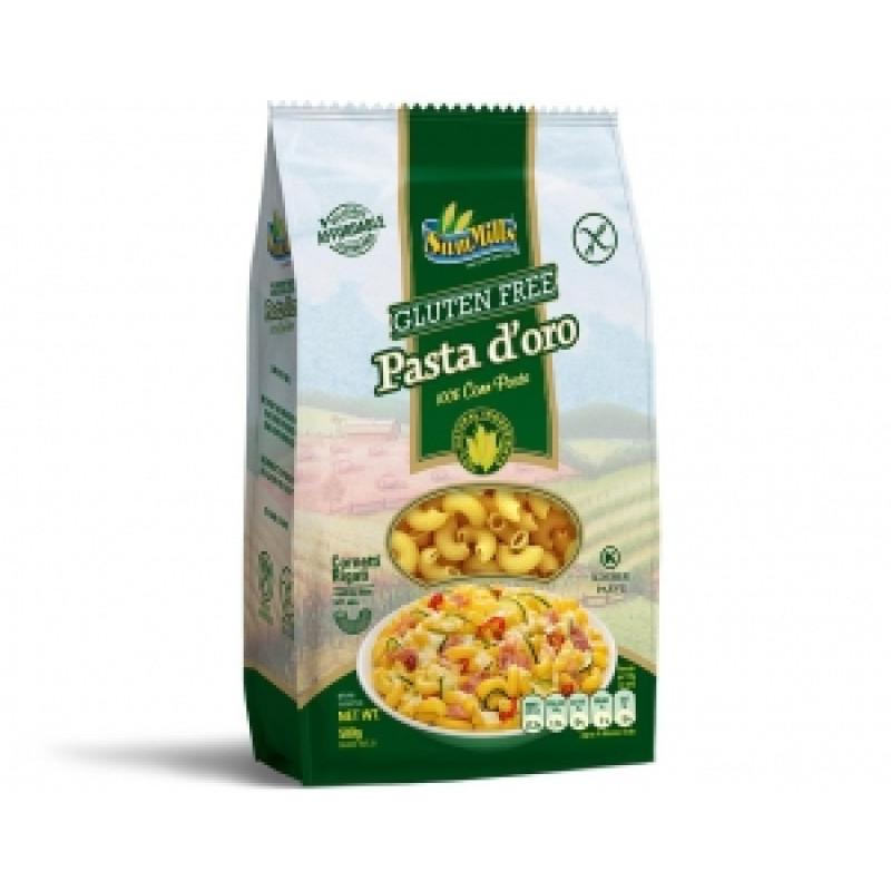 Kukuřičné těstoviny - kolínka (Cornetti)
