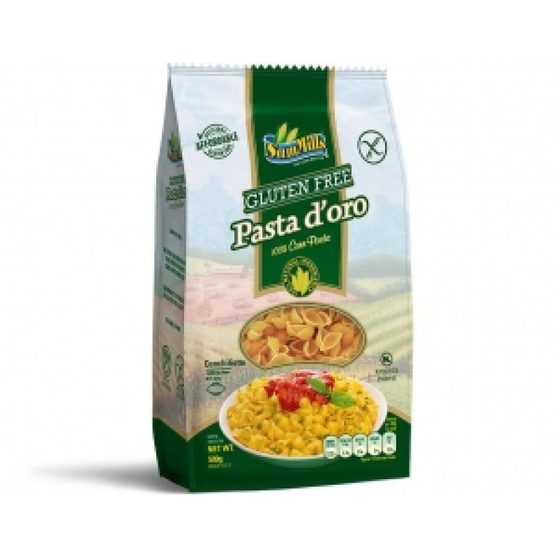 Kukuřičné těstoviny - mušle (Conchiliette)