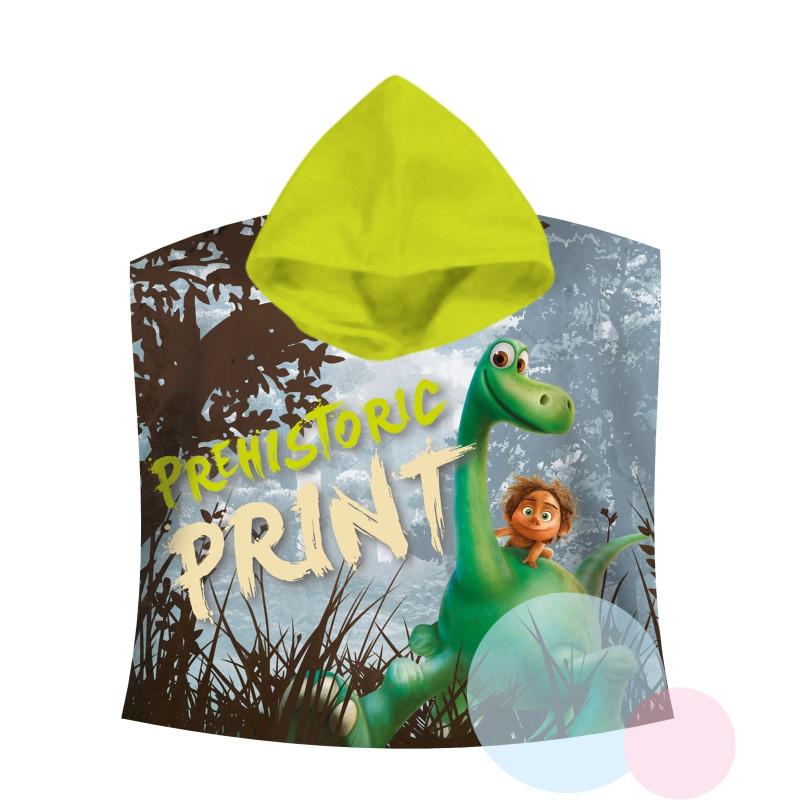 PONČO Hodný Dinosaurus