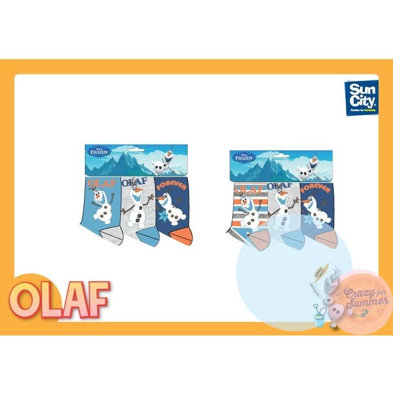 Ponožky Frozen Olaf 3ks