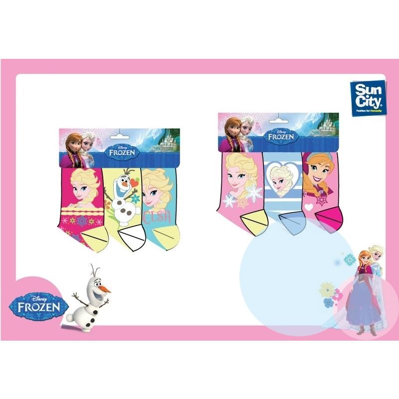 Ponožky Ledové Království 3ks