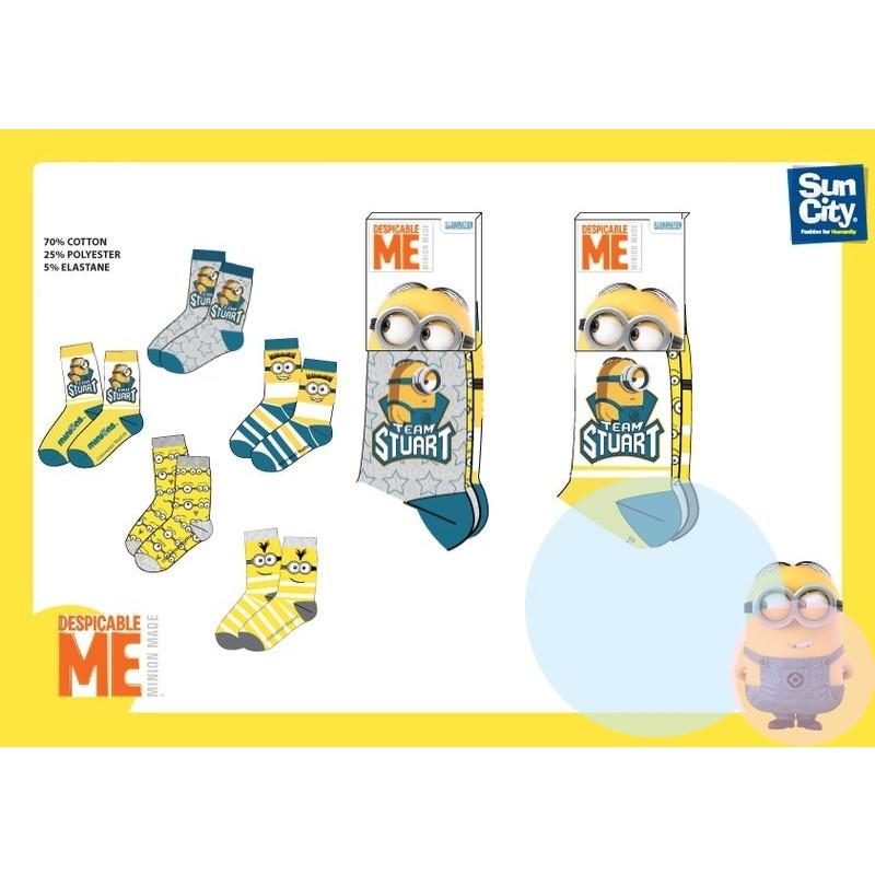 Ponožky Mimoni - 3ks