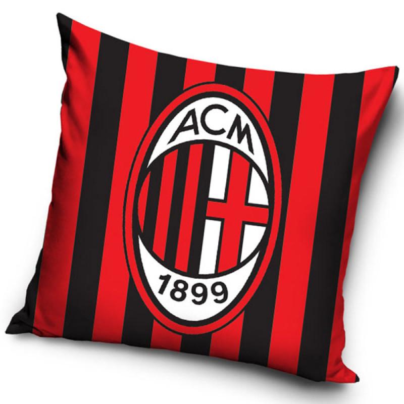Povlak na polštářek AC Milán pruhy