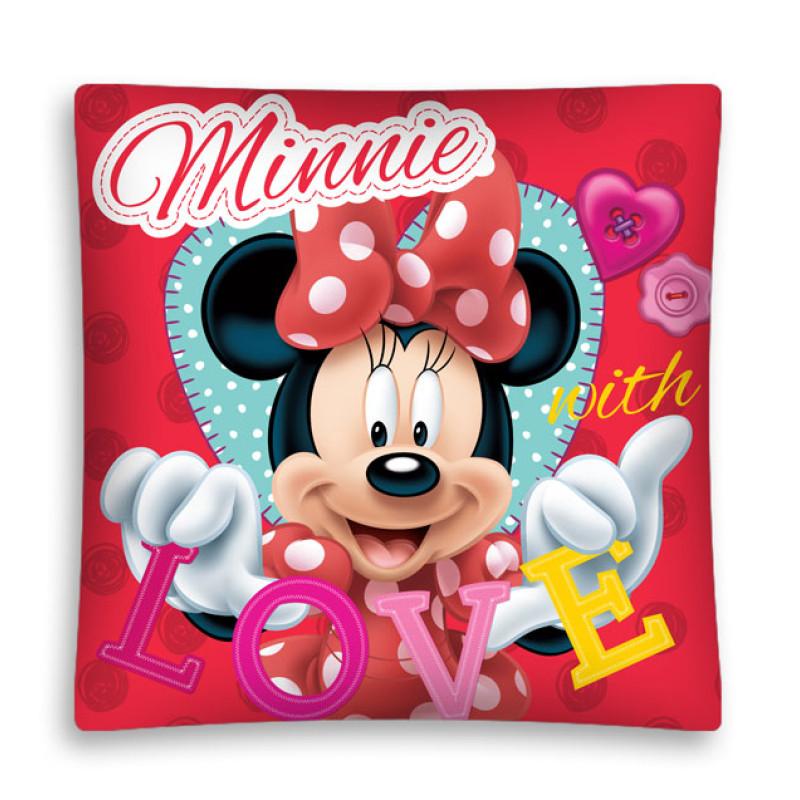 Povlak na polštářek Minnie Love micro