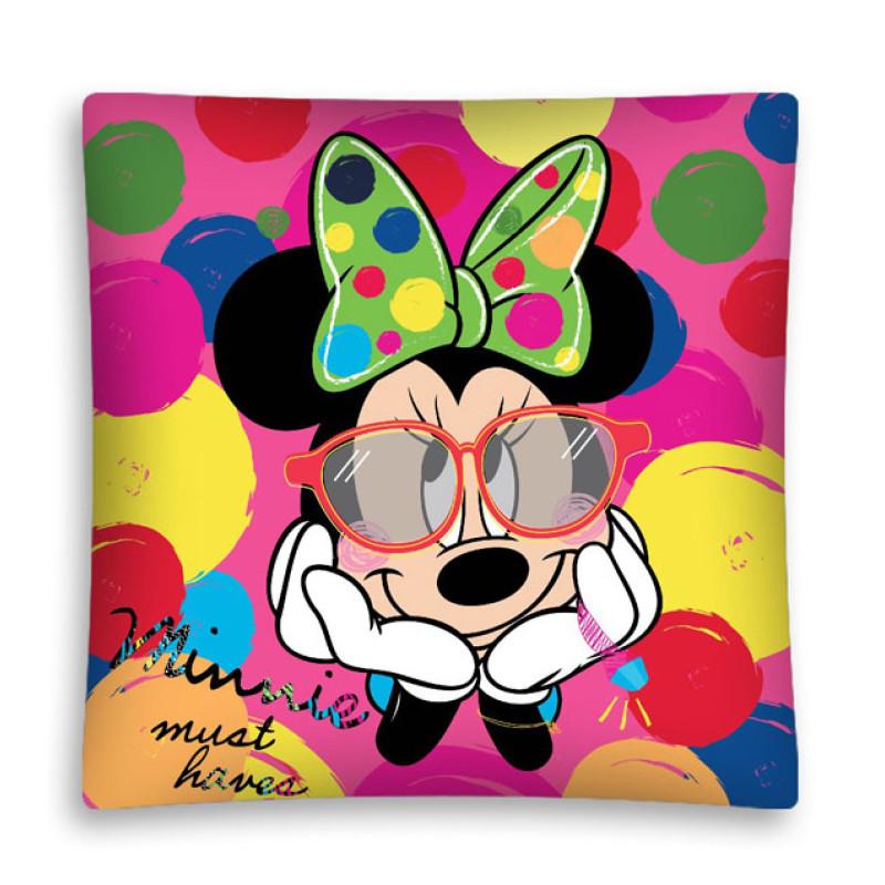 Povlak na polštářek Minnie puntíky micro