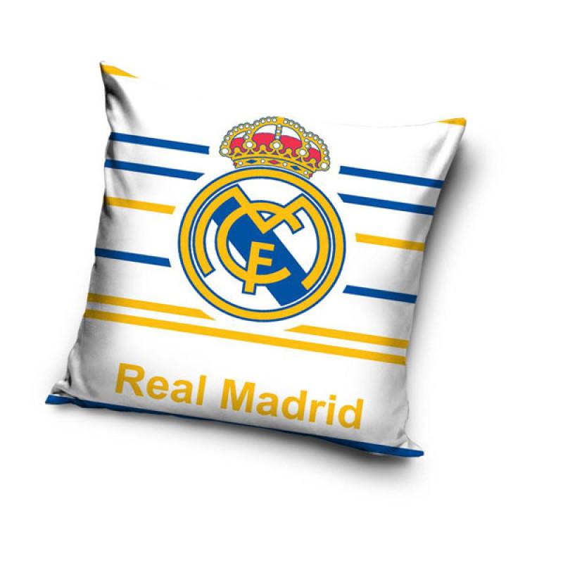Povlak na polštářek Real Madrid proužky