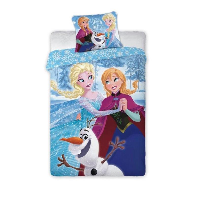 Povlečení Ledové Království Anna a Elsa les