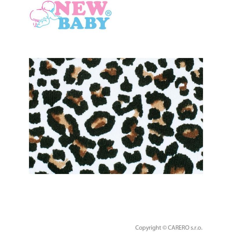 Suknička s tylovou spodničkou Leopardík