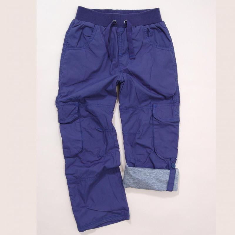 Kalhoty chlapecké s podšívkou