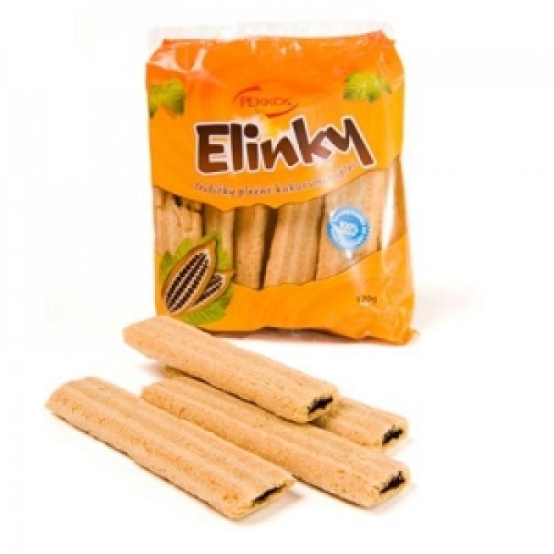 Kakaové cereální trubičky - ELINKY