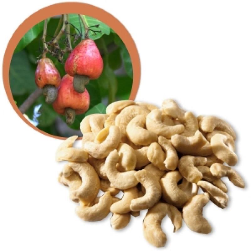 Kešu ořechy nepražené BIO