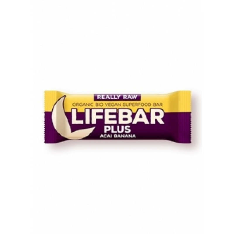Lifebar Plus acai s banánem BIO