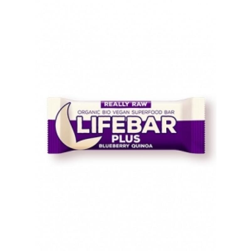 Lifebar Plus borůvková s quinoou BIO