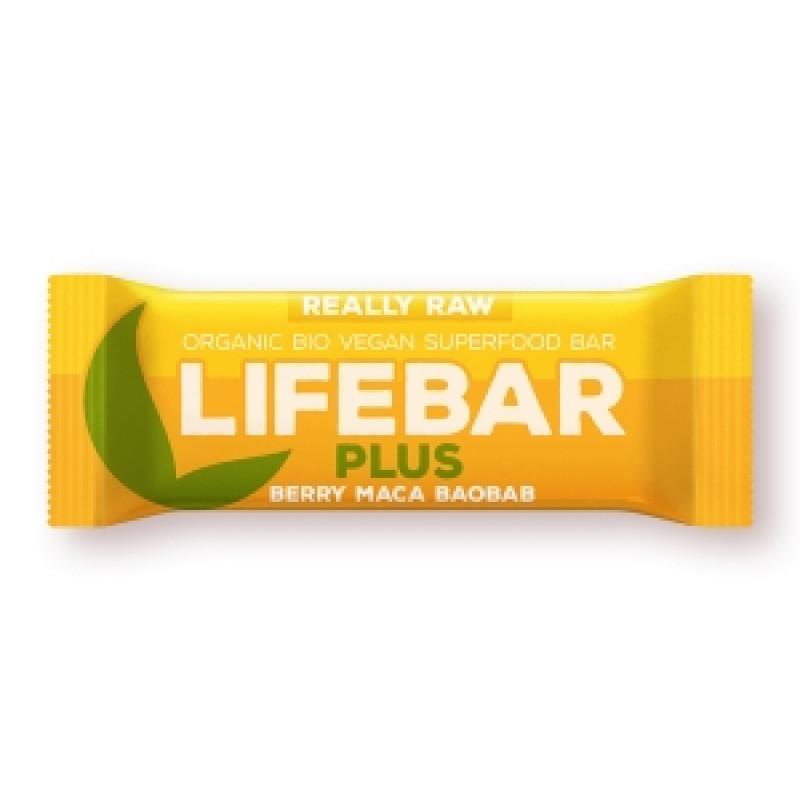 Lifebar PLUS s ovocem a macou BIO