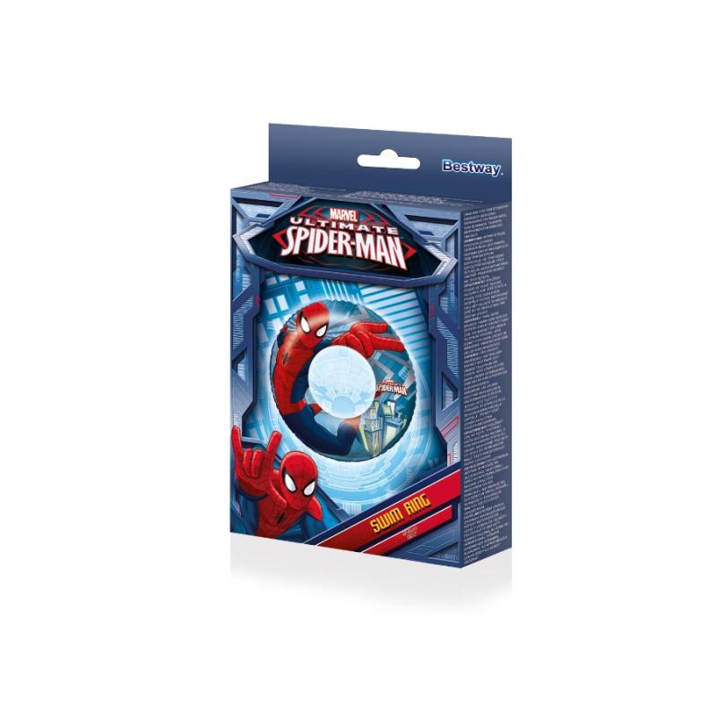 Nafukovací kruh Bestway Spiderman