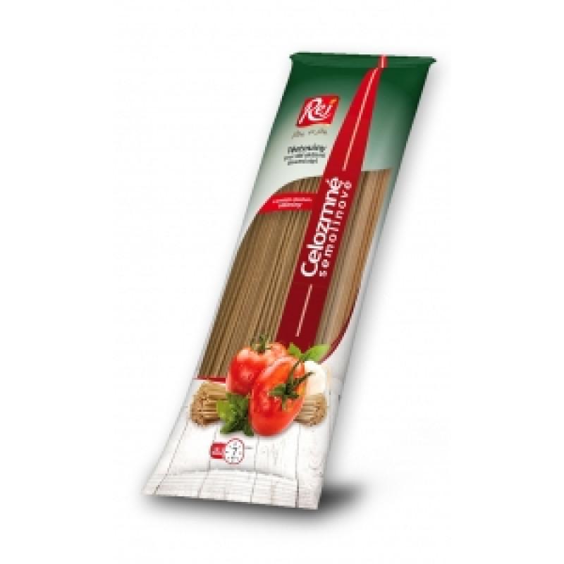 Špagety celozrnné těstoviny
